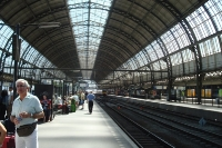 Centraal Station - The central train station in Amsterdam