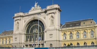 keleti train station