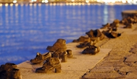 shoes on the danube promenade