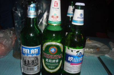 Chinese beer. Only 3% alcohol