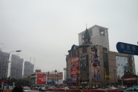 Commercial zone in Dalian